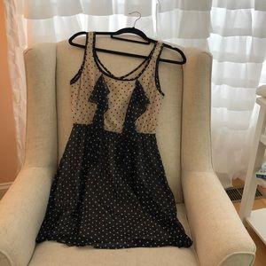 Lush Chiffon Mini Dress